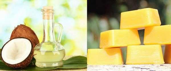 Cách làm kem dưỡng da mặt tại nhà với dầu dừa