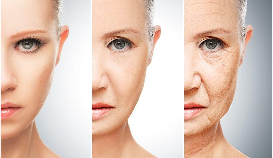Lão hóa da là tác nhân hàng đầu khiến da mặt bị nhăn nheo, chảy xệ