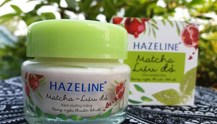 Kem Hazeline Matcha lựu đỏ có tốt không là câu hỏi của nhiều người