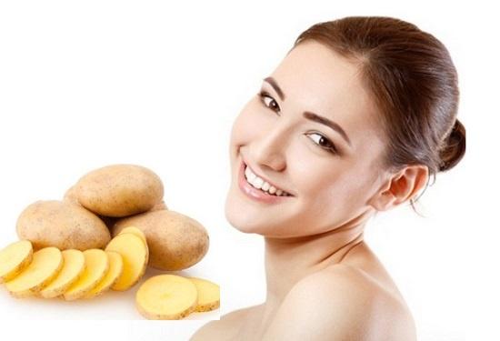 Tuyệt chiêu chăm sóc da bằng khoai tây đơn giản ngay tại nhà