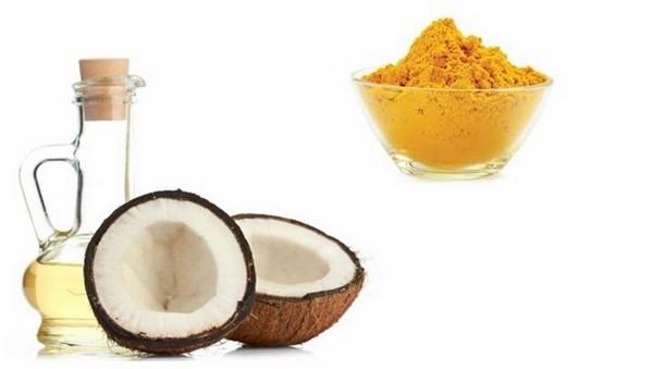 cách dùng dầu dừa trị mụn cho da nhờn