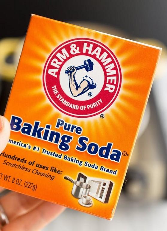 tẩy tế bào chết baking soda