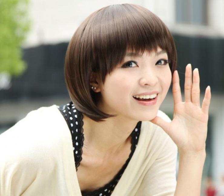 Top những kiểu tóc mái phù hợp với khuôn mặt tròn