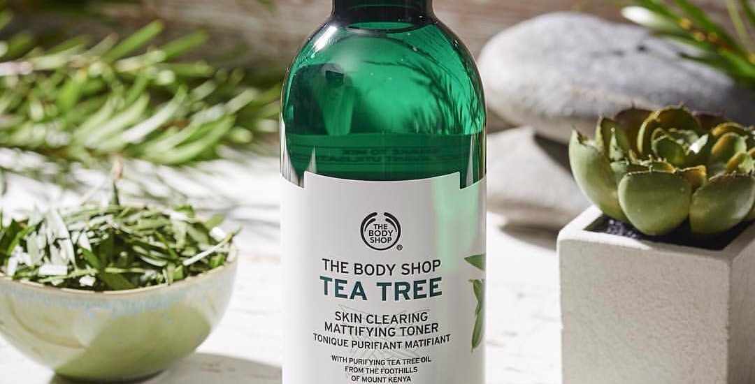 Nước hoa hồng Tea tree the body shop