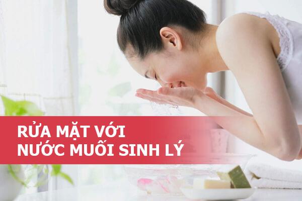 Trị mụn bằng nước muối sinh lý thích hợp với loại da nào?