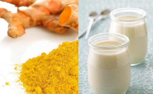 Trị mụn bằng nghệ và sữa tươi có tác dụng duy trì độ đàn hồi & cải thiện độ ẩm của da