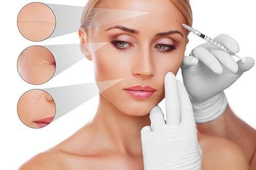 Tiêm trẻ hóa da là phương pháp đưa những chất làm đầy nếp nhăn giúp da căng bóng hơn