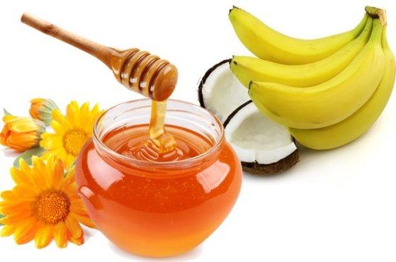 Hỗn hợp chuối và mật ong có công dụng dưỡng tóc