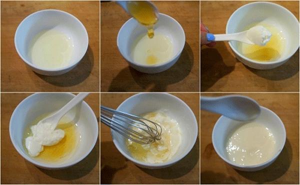 Cách làm đẹp da mặt bằng vitamin E bằng mặt nạ vitamin E và sữa chua