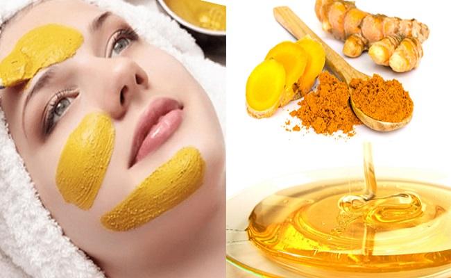 Cách làm mặt nạ nghệ mật ong trị mụn